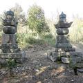 梅雲院殿(長継側室於つま)・守光院殿(長継乳母)の墓