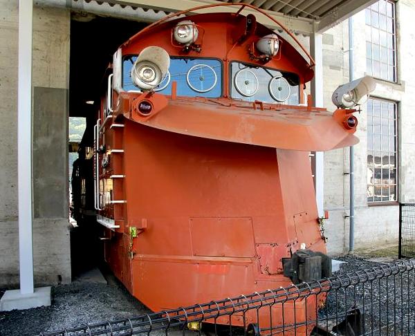 DD16形ディーゼル機関車