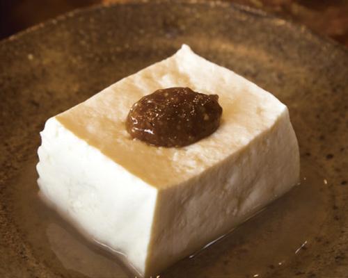 ⑩あなみ特製 豆富・厚揚げ・薬味味噌セット