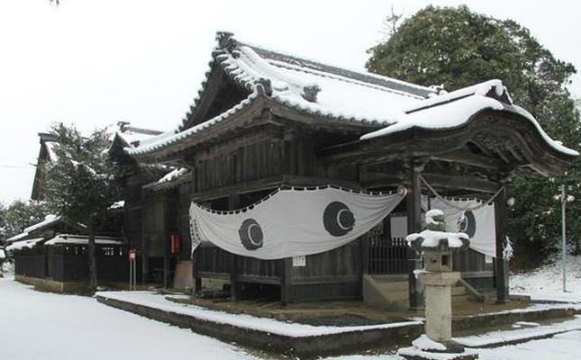 白加美神社へ初詣